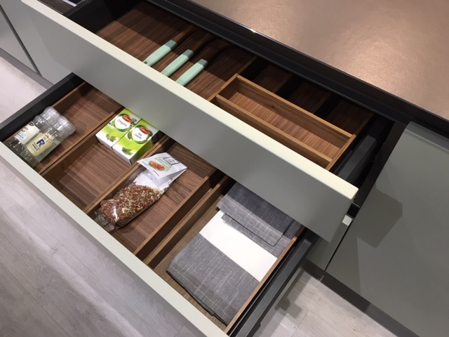 Wooden Shelf Dividers for Kitchen Drawers