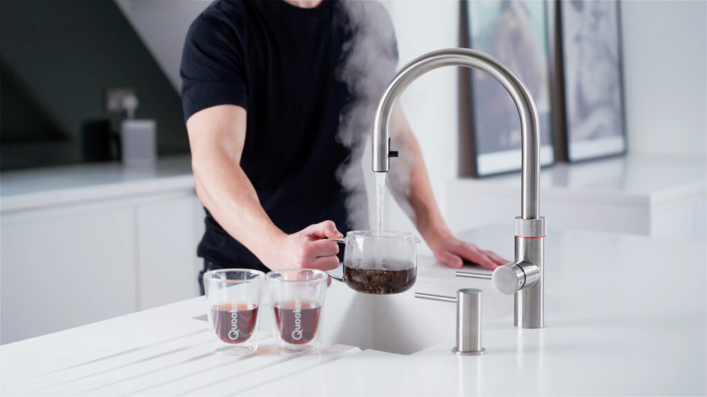 Flex 4 - Boiling Coffee from Quooker Tap